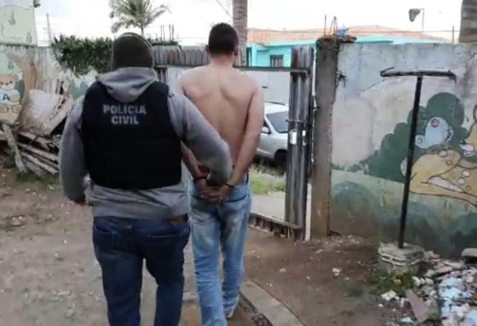 José Tiago Correia Soroka foi preso neste sábado (29), em Curitiba — Foto: Divulgação