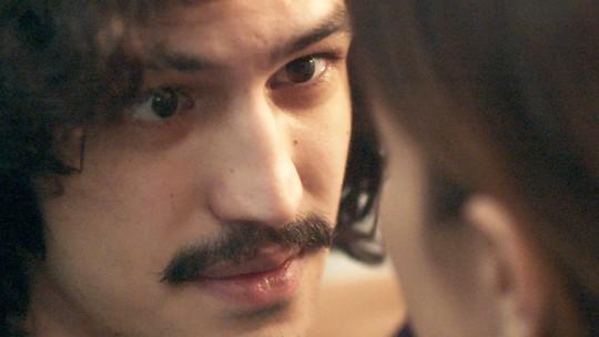 Gustavo diz para Rimena que não matou Arnaldo