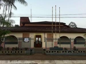 Suspeito de estupro foi detido na delegacia de Oiapoque, no Amapá (Foto: Divulgação/Polícia Civil)