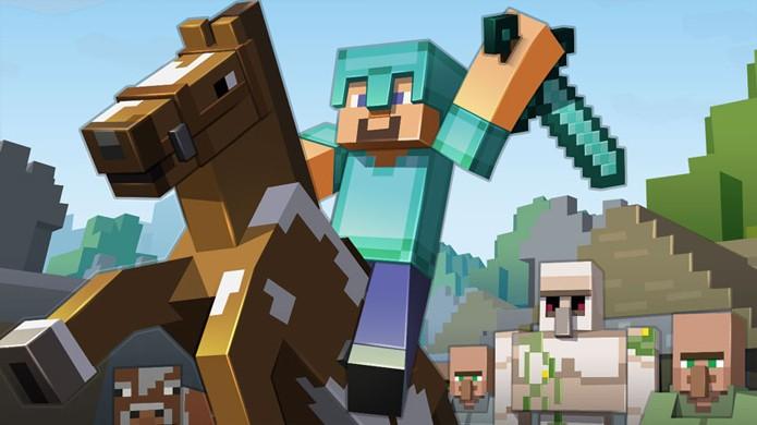 Minecraft fez tanto sucesso que recebeu diversas versões diferentes (Foto: VG247)