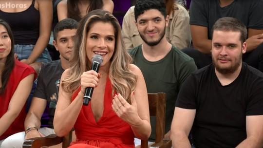 Ingrid Guimarães brinca que todo comediante é desajustado por natureza