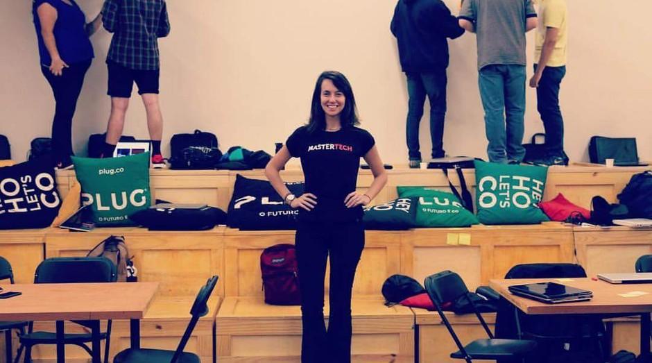 Camila Achutt Mastertech  (Foto: Reprodução  Facebook )