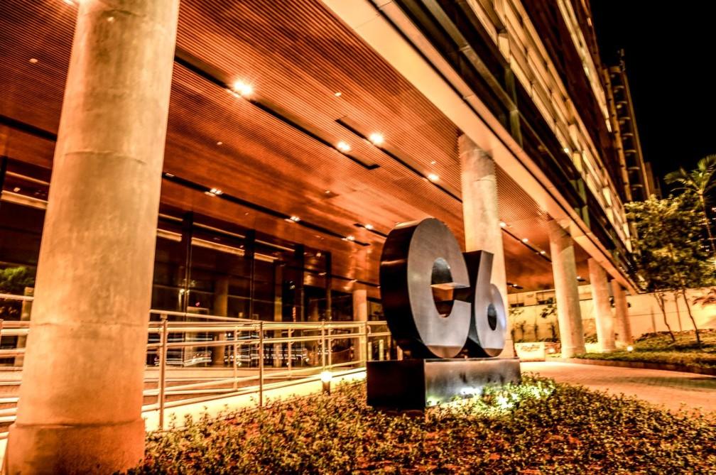 Fachada do C6 Bank — Foto: Divulgação