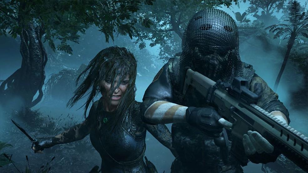Shadow of the Tomb Raider mostra uma Lara Croft violenta em um game que não parece ter agradado tanto — Foto: Reprodução/Steam