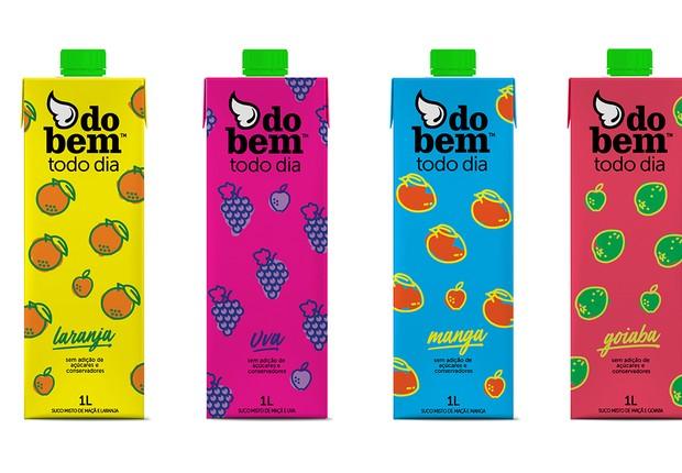 Nova linha de sucos Do Bem Todo Dia (Foto: Divulgação)
