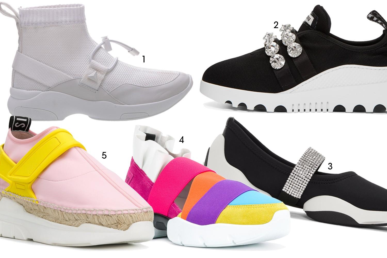 Ugly Shoes: 1. Schutz 2. Miu Miu 3. Giuseppe Zanotti 4. Emilio Pucci 5.  (Foto: Reprodução)