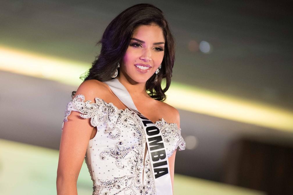 Laura González, Miss Colômbia (Foto: Matt Petit/Miss Universe Organization/AFP)