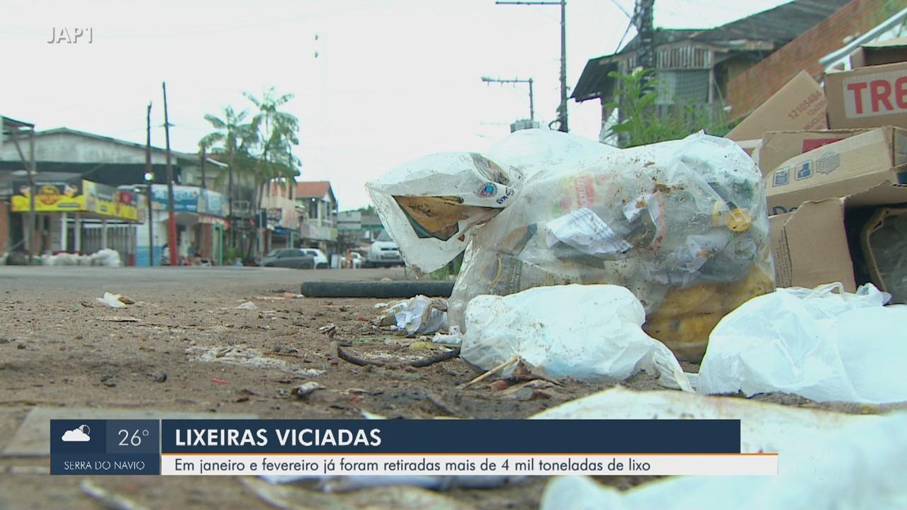 Mais de 4 mil toneladas de resíduos já foram retiradas de lixeiras a céu aberto em Macapá