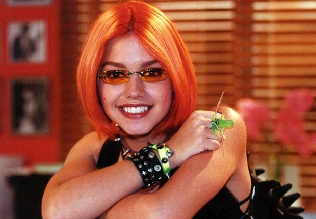 Thais Fersoza como Gisela, personagem que interpretou na novela Estrela Guia (2001) (Foto: Divulgação/TV Globo)