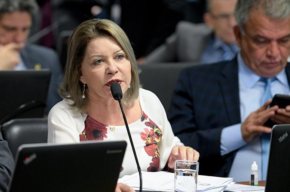 Senadora Juíza Selma Arruda (Podemos-MT) — Foto: Pedro França/Agência Senado