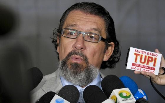 O advogado Antonio Carlos de Almeida Castro, o Kakay (Foto: Geraldo Magela/Agência Senado)