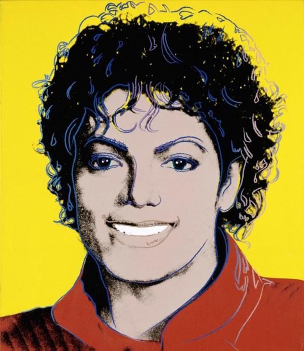 """Hugo Boss patrocina a exposição """"Michael Jackson:'Michael Jackson' por Andy Warhol (1984) (Foto: Reprodução)"""