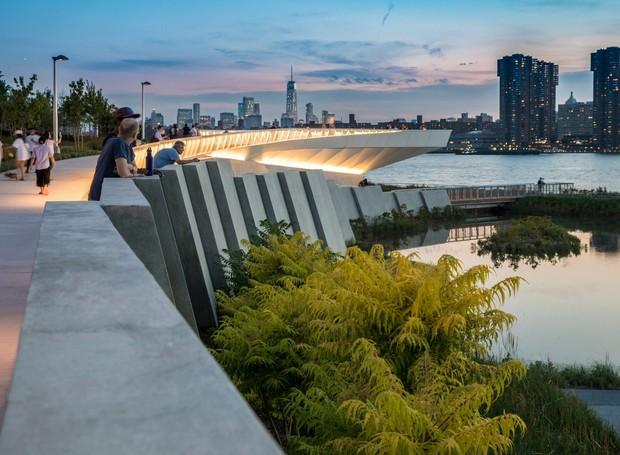 Os visitantes são convidados a se conectarem à natureza (Foto: David Lloyd/  Reprodução)