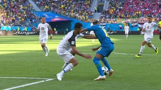 Veja os melhores momentos e os gols de Brasil 2 x 0 Costa Rica