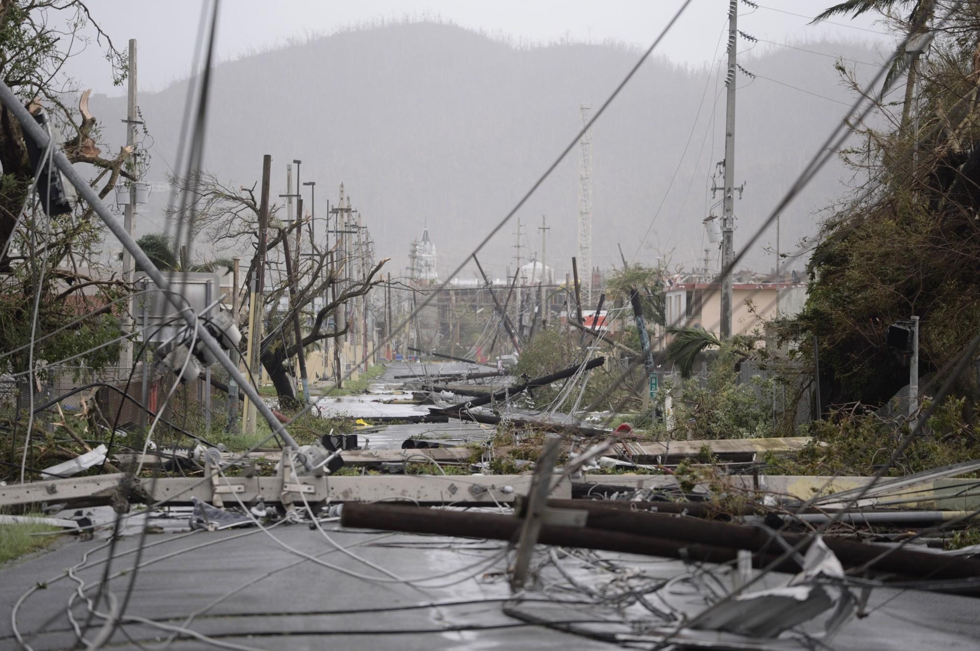 Governador diz que Maria é a maior catástrofe da história de Porto Rico
