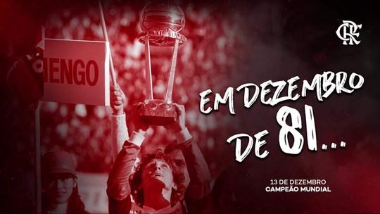Reveja os gols do título do Mundial de 1981 do Flamengo. E acompanhe também as entrevistas pós jogo.