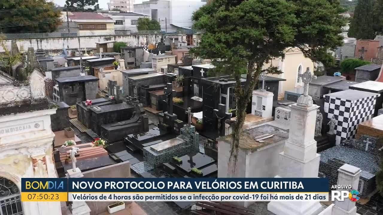 Prefeitura de Curitiba faz novo protocolo para velórios