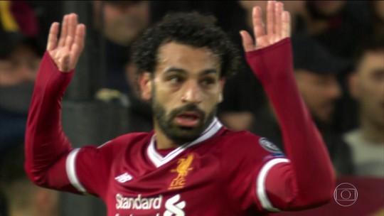 Entre euforia de companheiros e cautela de Klopp, Salah se credencia à Bola de Ouro
