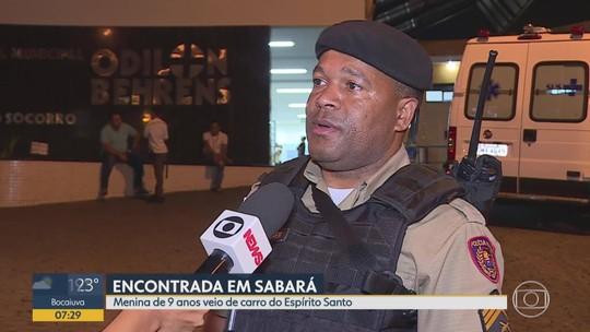 Após denúncia anônima, polícia encontra criança do ES em posto de combustível em Sabará
