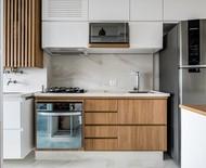 Revestimentos para a área do fogão: 7 projetos para se inspirar