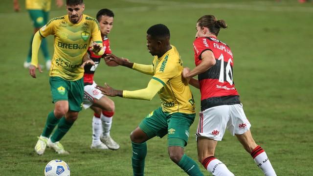 Cuiabá x Flamengo, pelo Campeonato Brasileiro