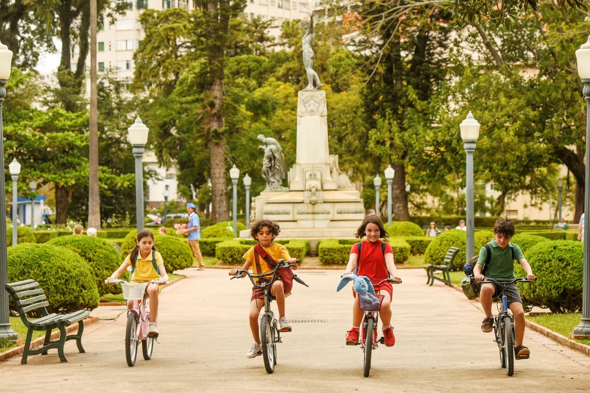 Magali, Cascão, Mônica e Cebolinha (Foto: Serendipity Inc)