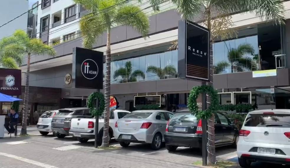 Cinco encontros foram feitos em edifício de Tambaú, João Pessoa — Foto: Reprodução/TV Cabo Branco