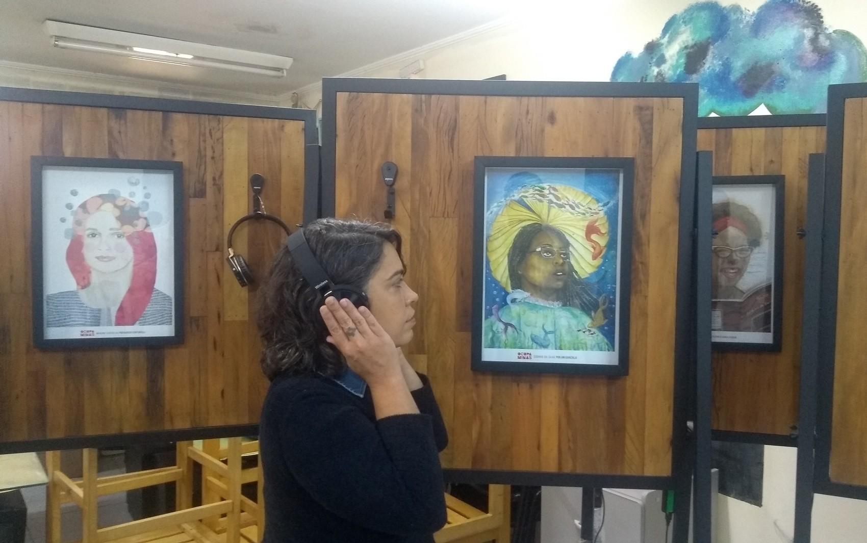 Exposição multimídia homenageia escritoras mineiras em Poços de Caldas, MG