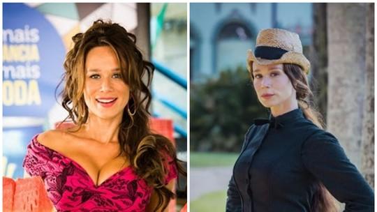 'Haja Coração': Veja o antes e depois do elenco