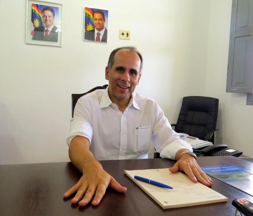 Luís Eduardo Cavalcante disse  não existe irregularidade  (Foto: Ana Clara Marinho/TV Globo )