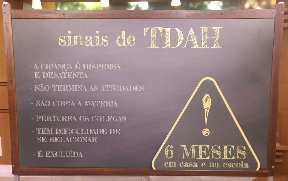 Bem Estar sinais TDAH (Foto: Mariana Garcia/G1)