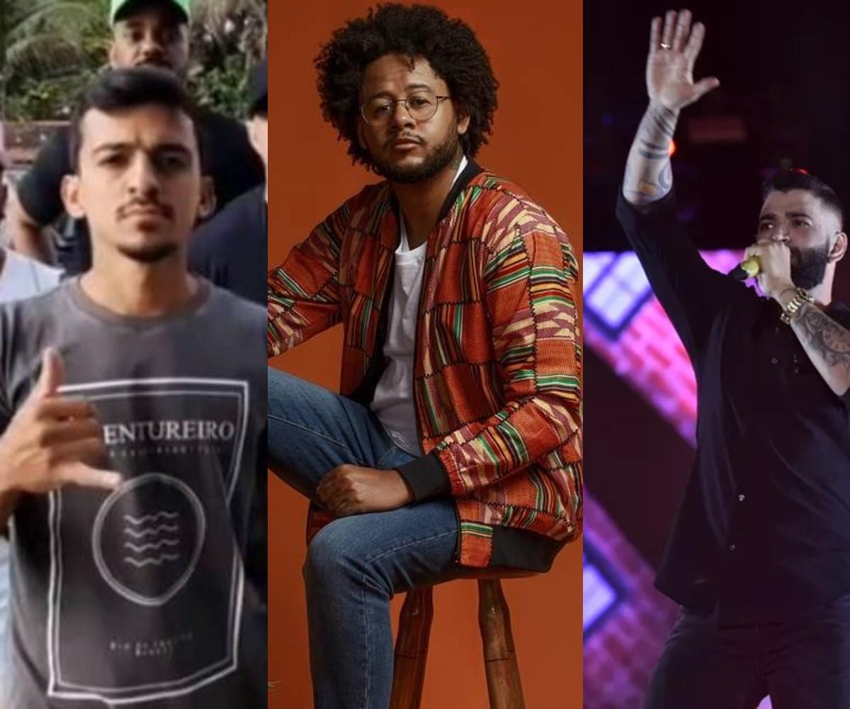 Lives de hoje: Gusttavo Lima, Aglomerou, Léo Santana, Emicida e mais shows para ver em casa