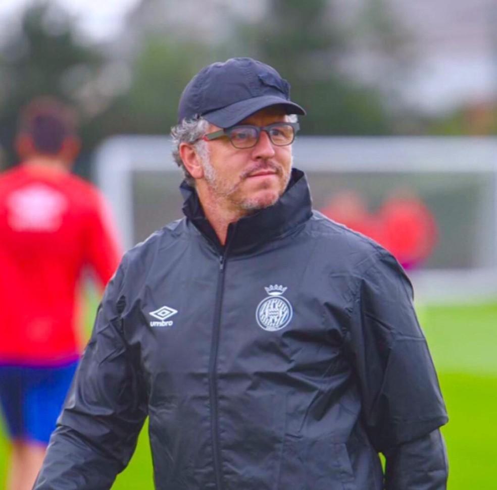 Jordi Guerrero será o auxiliar de Torrent no Flamengo — Foto: Reprodução