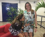 Claudia Leitte e Fernanda Gentil |  Globo/Luma Dantas