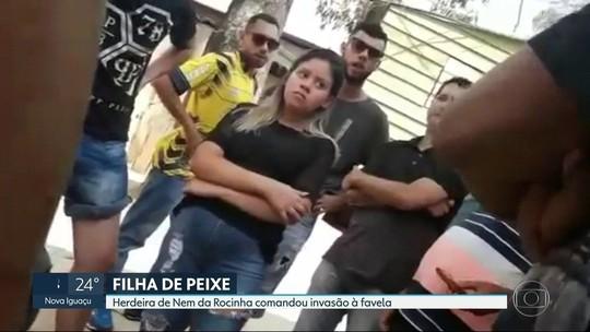 Filha de Nem visitou o pai 2 vezes antes de confrontos na Rocinha em 2017