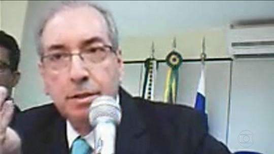 Cunha depõe e nega acusações do operador Lúcio Funaro