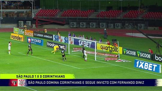 """Para Noriega, só São Paulo buscou a vitória no clássico Majestoso: """"O Corinthians não propõe jogo"""""""