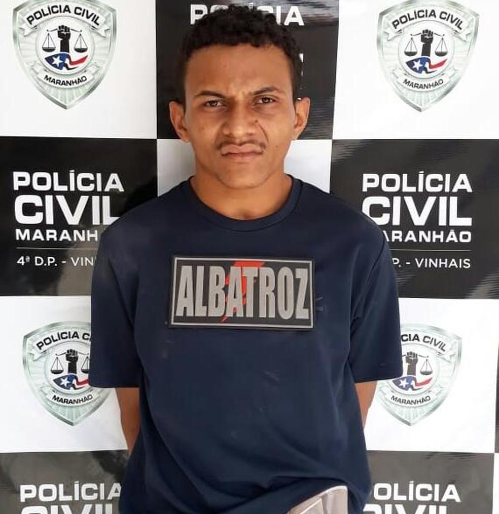 Yago Menezes Marreiros será encaminhado nesta terça (11) para o Complexo Penitenciário de Pedrinhas em São Luís — Foto: Divulgação/Polícia