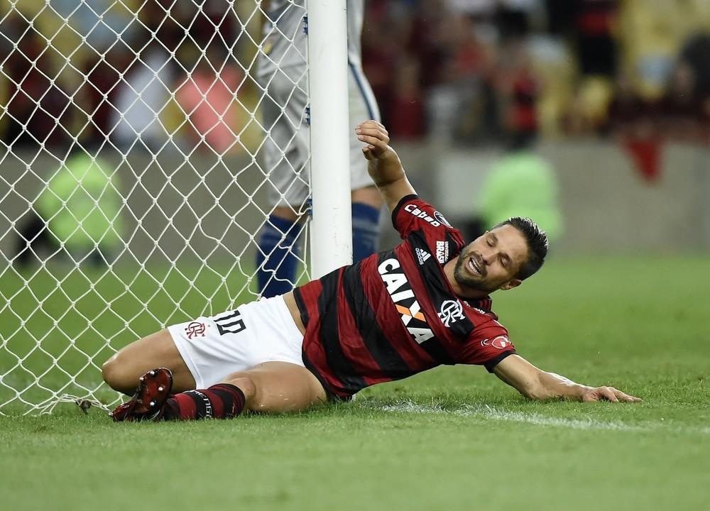 Diego diz que Fla fez jogo decepcionante no Maracanã: Correria e pouca eficiência