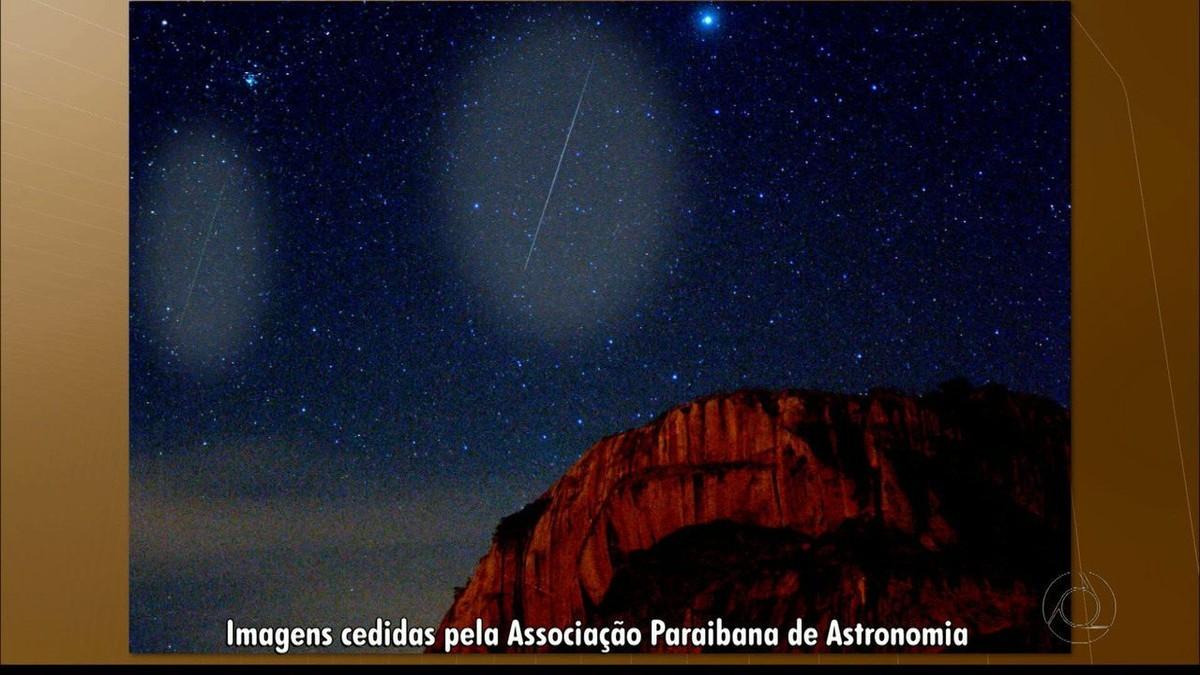 Veja vídeo da chuva de meteoros na Paraíba