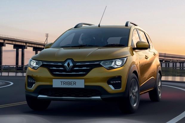 Renault Triber (Foto: Divulgação)