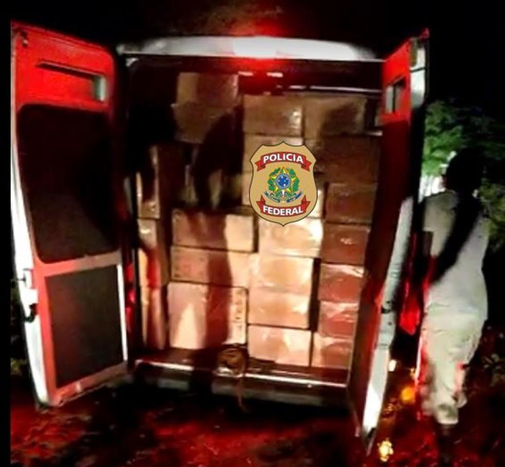 Proprietário da carga foi identificado — Foto: PFRN/Divulgação