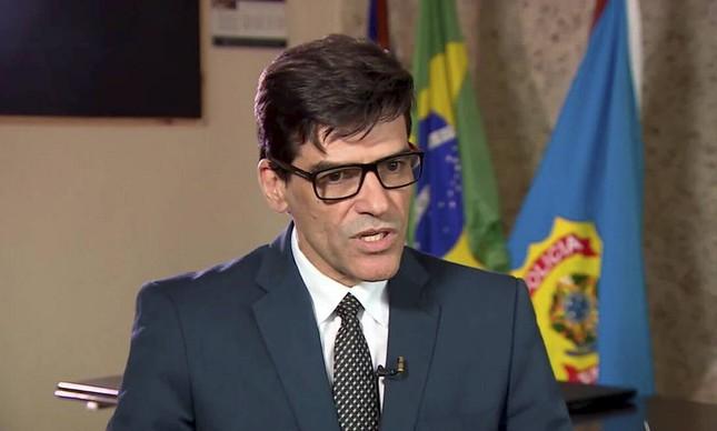 Delegado da Polícia Federal Alexandre Saraiva