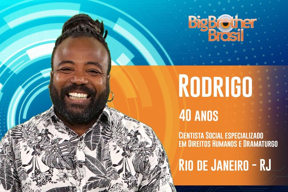 Rodrigo, participante do 'BBB19' — Foto: Divulgação