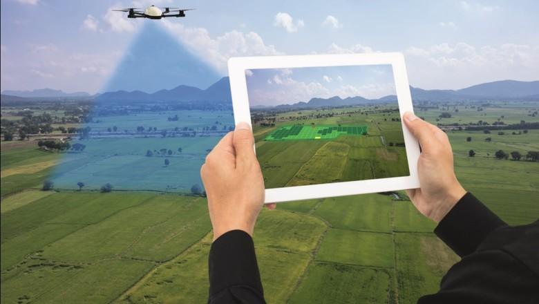 tecnologia-agro-drone-lavoura-futuro (Foto: Thinkstock)