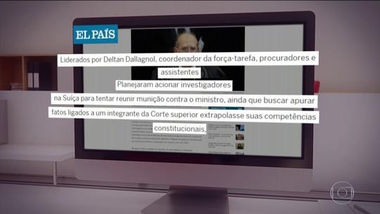 Site diz que Lava Jato planejou buscar na Suíça provas contra Gilmar Mendes