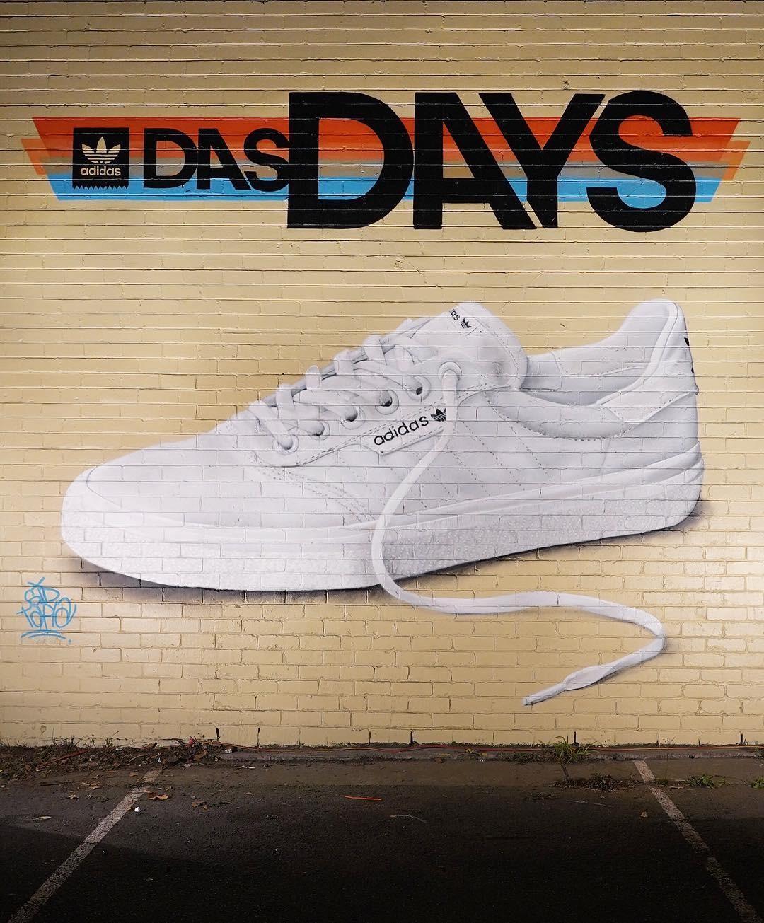 Grafite feito para a edição de Melbourne do Das Days (Foto: Reprodução/Instagram)