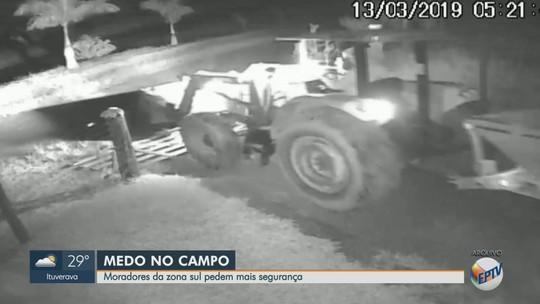 Furtos elevam insegurança na zona rural de Patrocínio Paulista: 'completamente vulnerável'