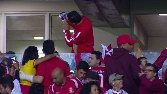 """Damião vibra com volta ao Beira-Rio: """"Emoção é a mesma da primeira vez"""""""