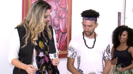 Jessica Leão dança música afro-brasileira no 'Mais Diário'